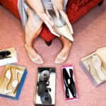 Trying on Shoes --- Image by © Royalty-Free/Corbis